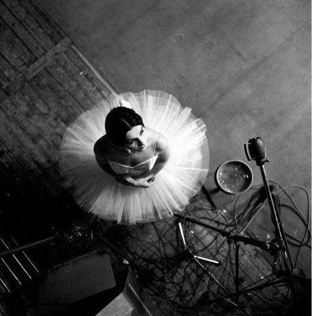 French ballerina Catherine Verneuil,  Robert Doisneau, 1963
