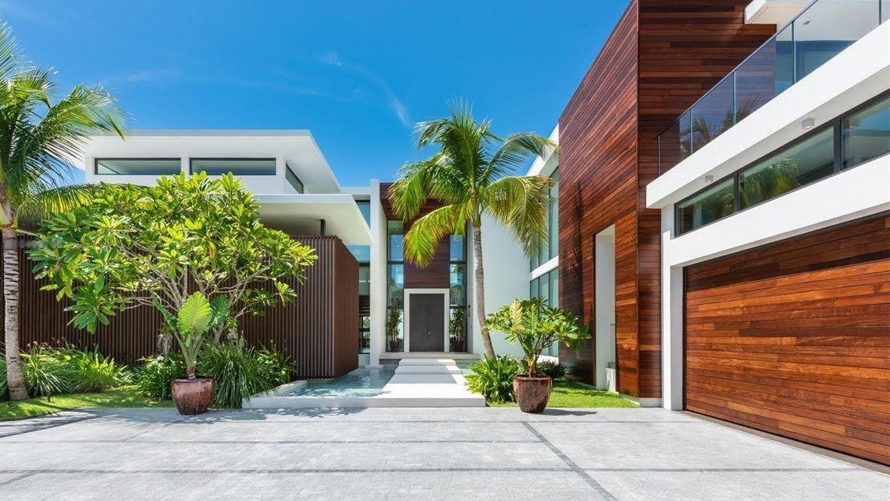 Inside A 17 Million Miami Beach Mega Mansion Florida Casas Por Dentro Mansiones Casas