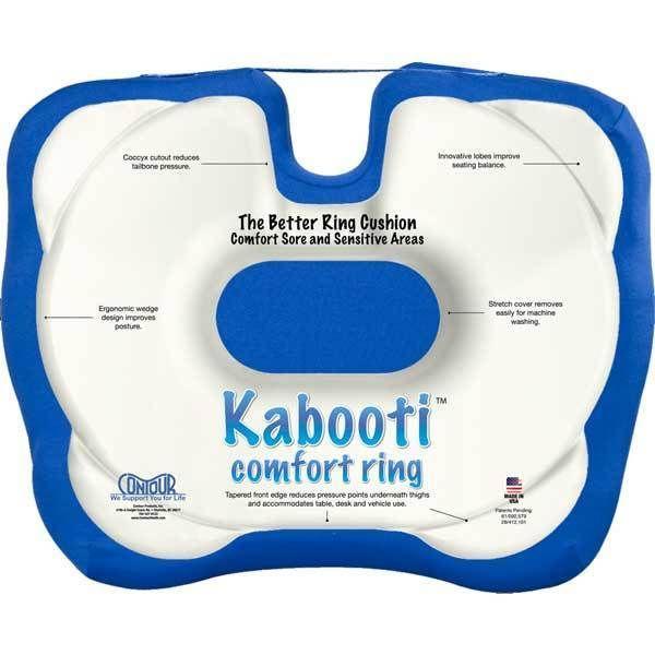 Contour Living Kabooti Coccyxring Cushion Wedge Encourage Proper