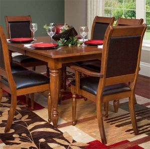 Awesome Solid Wood Amish Made Driscoll Dining Suite
