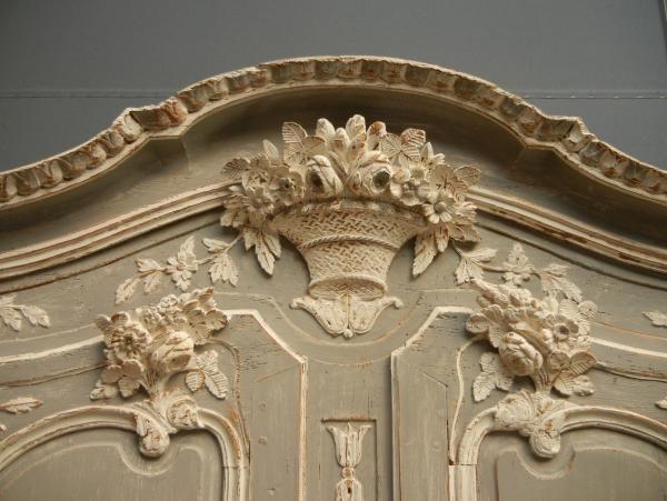 Armoire Normande De Mariage Peinte Xixeme French Antiques Fr Armoire Normande Meuble Patiner Un Meuble