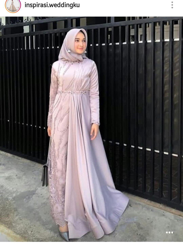 Model Baju Brokat Muslim : model, brokat, muslim, Wafiq, Azahra, Muslimah, Dress, Party, Model, Wanita,, Pakaian, Pesta,, Wanita