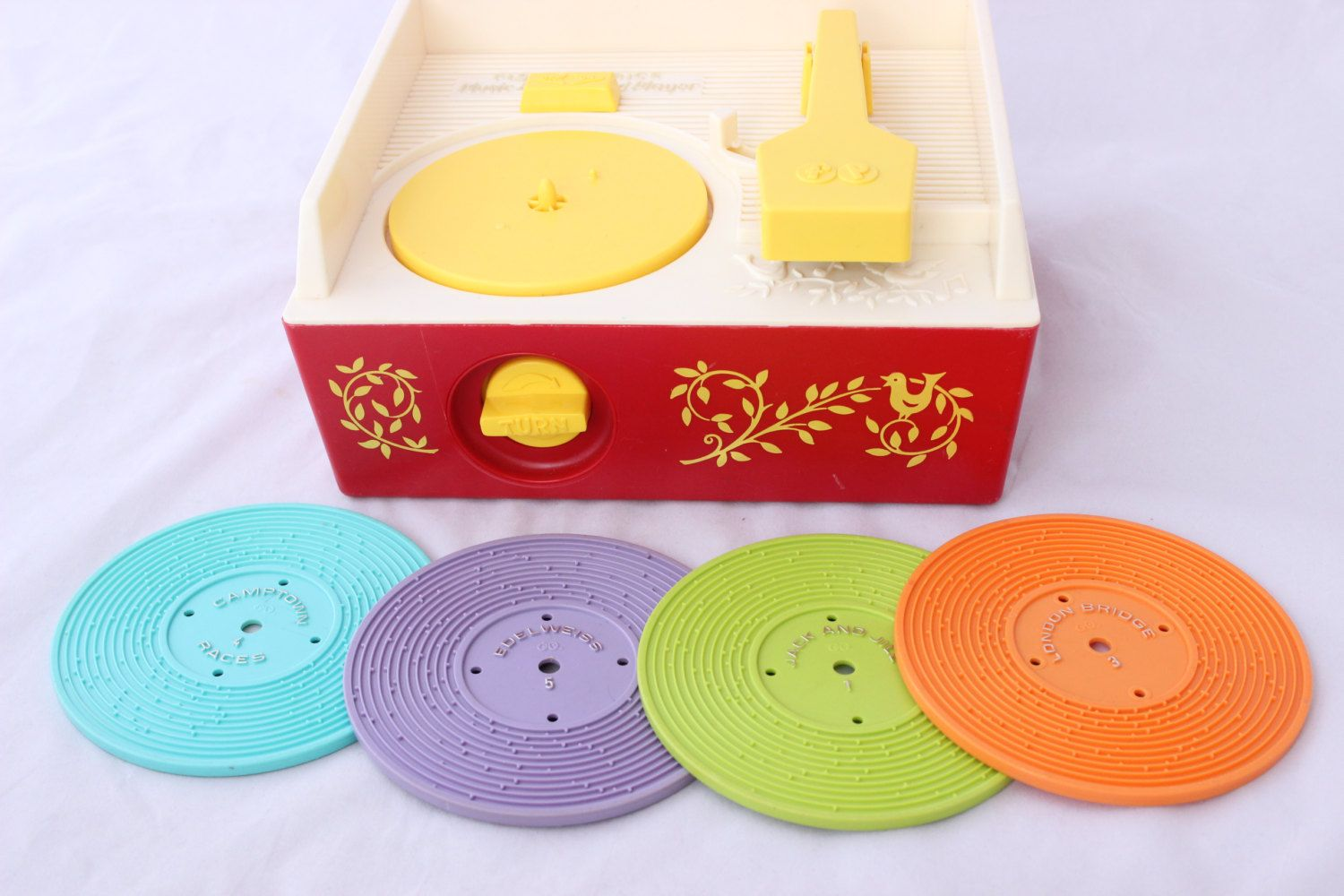 Vintage Fisher Price Music Box Record Player | Vintage ...