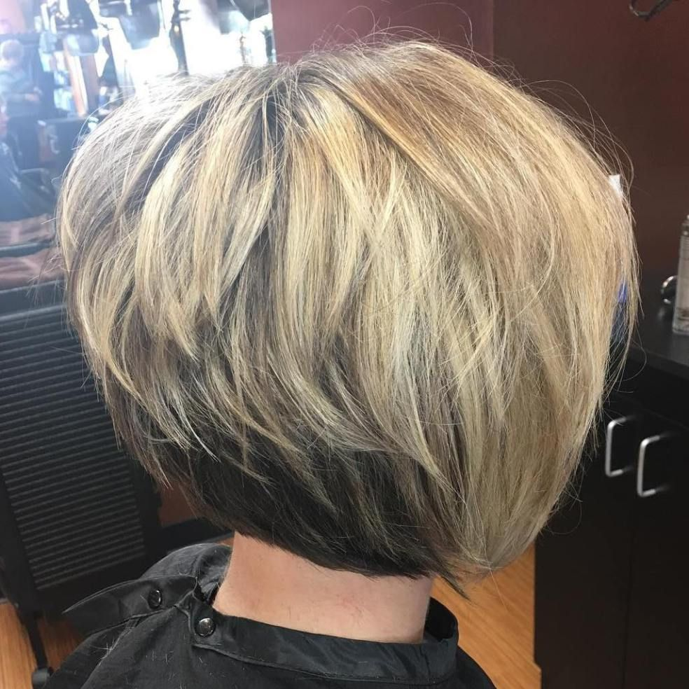 layered haircuts from the back 50 trendy inverted bob haircuts hair ideas 4614