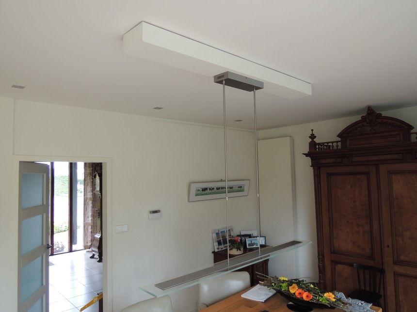 Hanglamp Hoog Plafond : Afbeeldingsresultaat voor plafond meerder hanglampen plafond