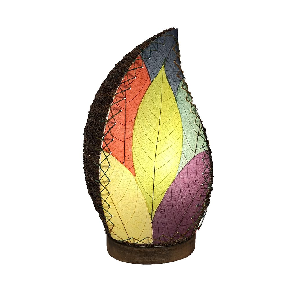 Leaflet Table Lamp 14 Inch Asst Colors Table Lamp House Design Table Lamp Shades
