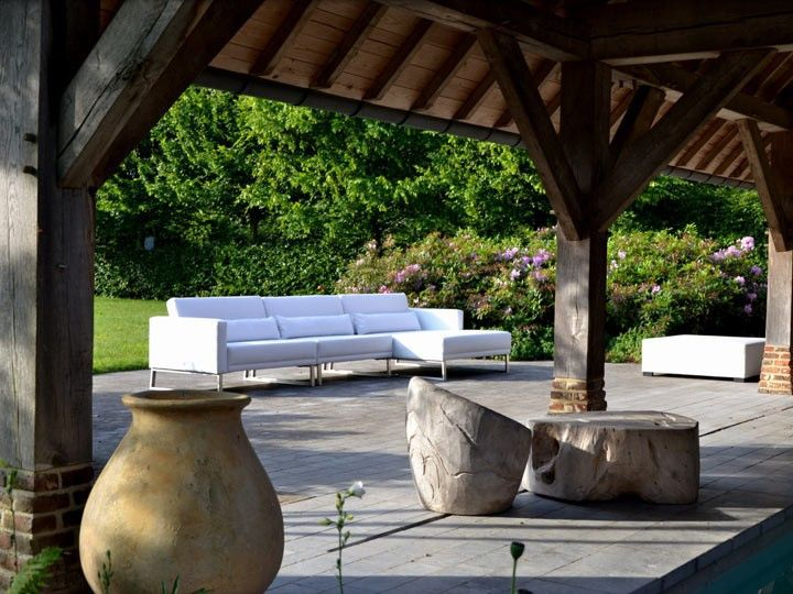 Bari Lounge Gartenset Garten Gartenmöbel Gartensofa Gartenlounge