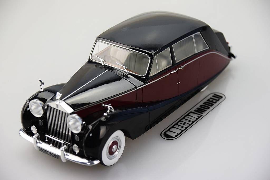 1:18 Model Car Group Rolls Royce Silver Wraith Empress by Hooper 1956
