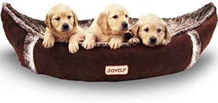 Joyelf Medium Dog Bed Orthopedic Dog Bed With Removable Washable Cover Orthopedic Dog Bed Medium Dog Bed Warm Dog Beds