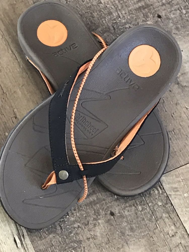 san francisco the cheapest high fashion Vionic Orthaheel Cascade Brown Flip Flop Sport Sandals Vibram ...
