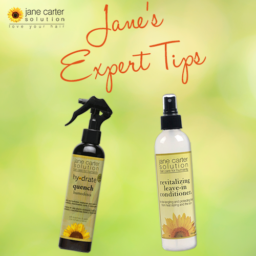 Expert Tip Use Quench Or Revitalizing Leave In Conditioner To