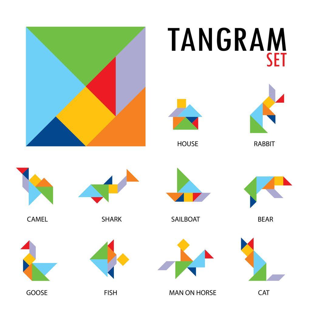 Virtual Tangrams In