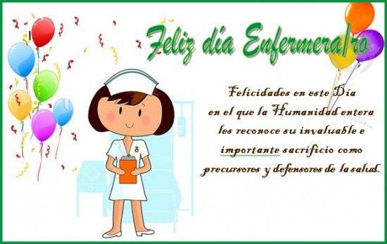 Frases Y Postales Para El Dia De La Enfermera Feliz Dia