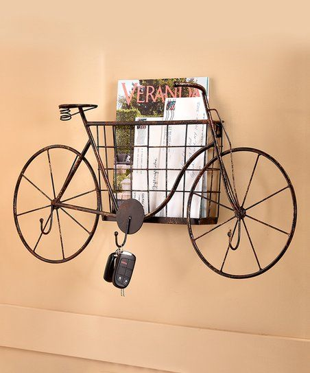 Love it so unique..Sculpted Metal Bicycle Wall Hook..Keep track of ...