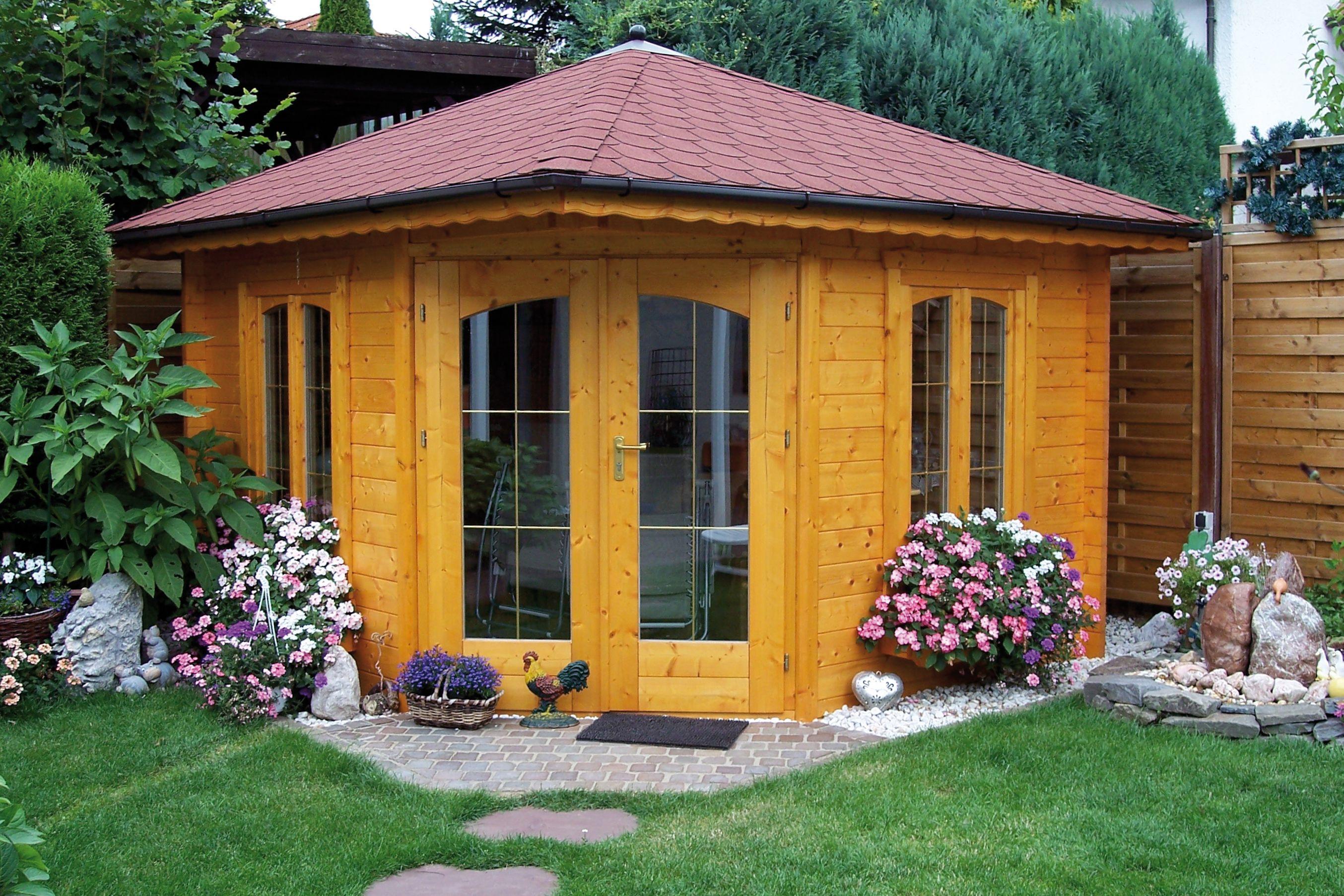 Pin von Grave Holzhäuser auf Gartenblockhäuser (mit