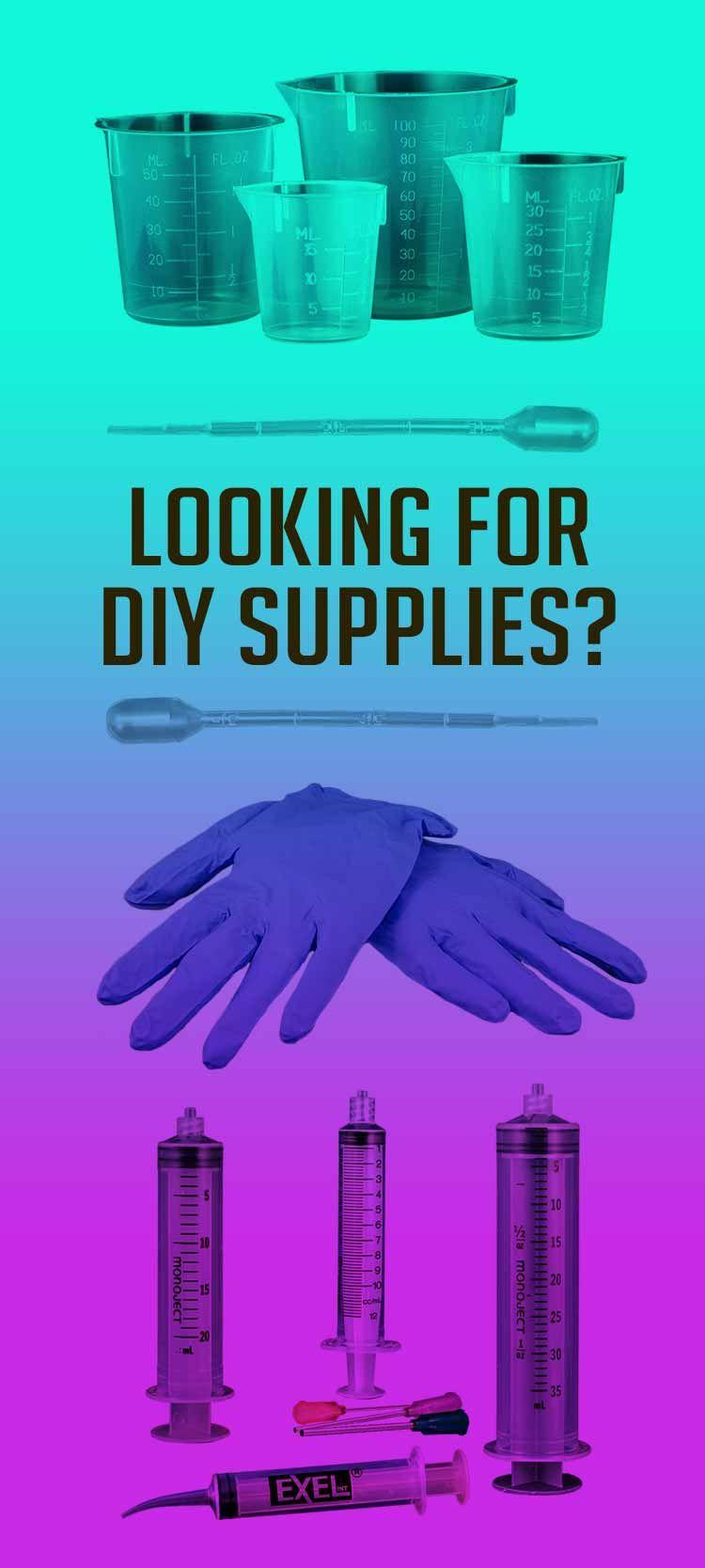 How to Make EJuice NicVape ELiquids and DIY Supplies