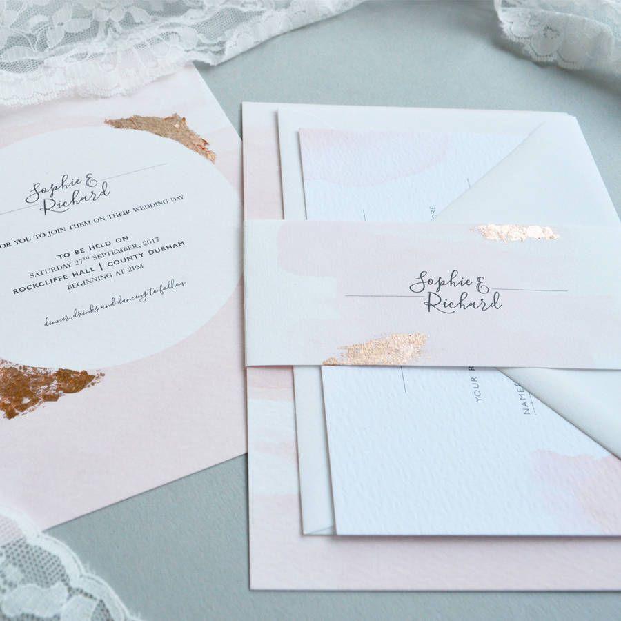 Blush Watercolour Wedding Invitation | Debut themes, Theme ideas and ...