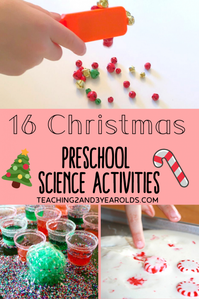 16 Christmas Science Activities for Preschool Christmas