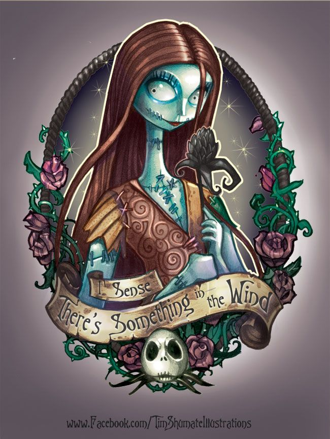 Tim Burton Jack And Sally Tim Shumate Illustrations In A Halloween Mood De Disney Princess Tattoo Tim Shumate Illustrations Sally Nightmare Before Christmas