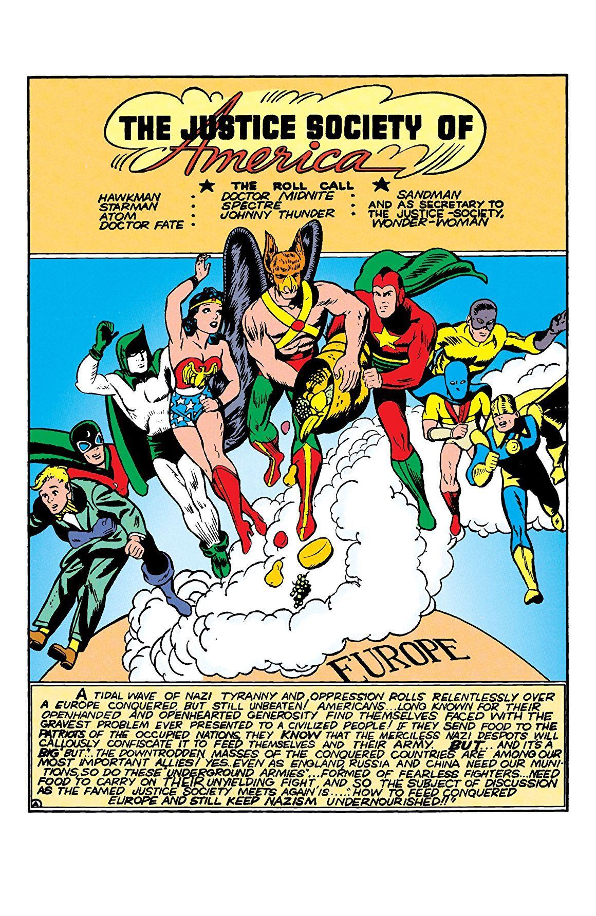 All Star Comics 14 Comics By Comixology Star Comics Comics Justice Society Of America