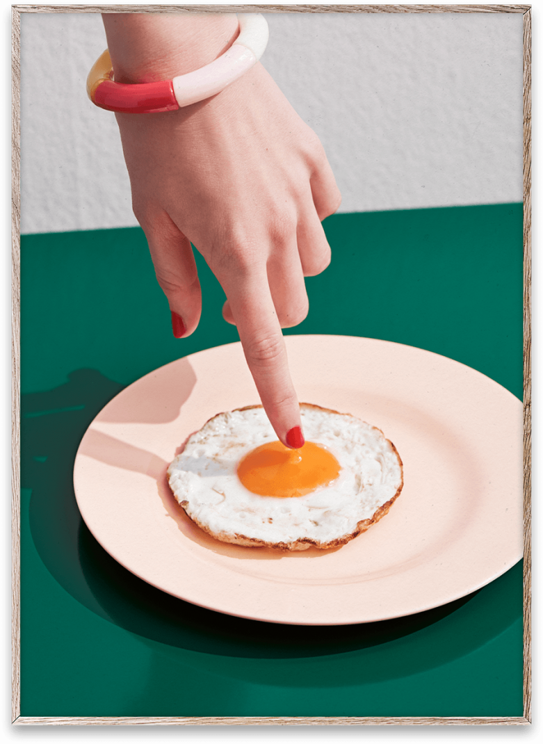 Fried Egg by photographer Henrik Bülow for Paper
