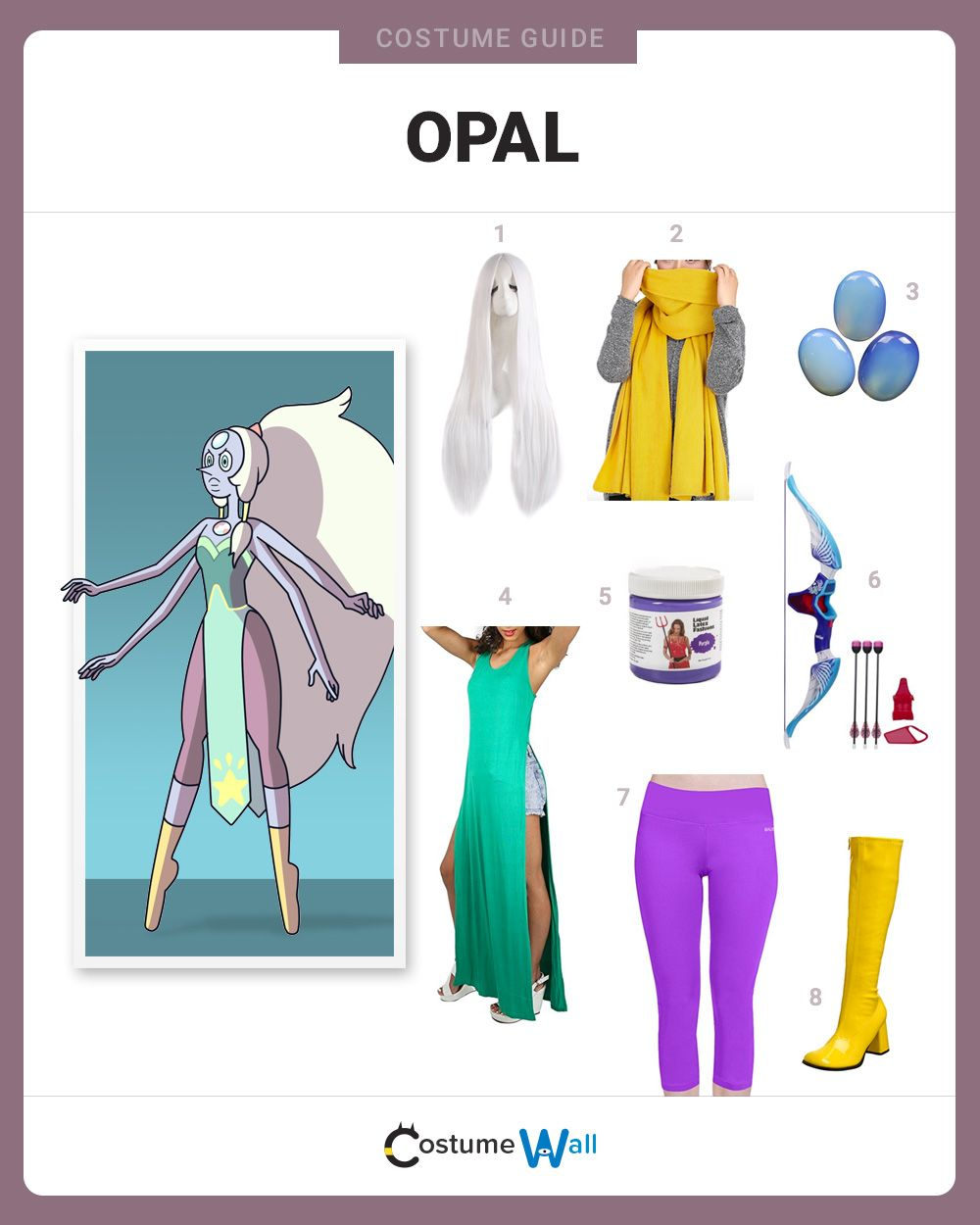 Dress like opal costume halloween and cosplay guides