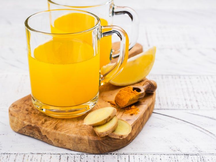 This 2-Ingredient DIY Tea Will Flatten Your Tummy Before Summer Turmeric Ginger Weight Loss
