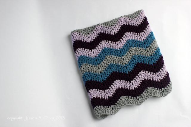 Chevron Baby Blanket Free Crochet Pattern Crochet Pinterest