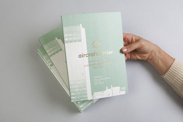 AIRCRAFT CARRIER - Exhibition Identity Design on Editorial Design Served