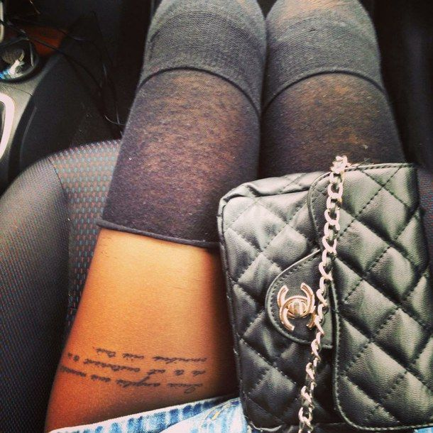 Photo of Image result for best thigh tattoos