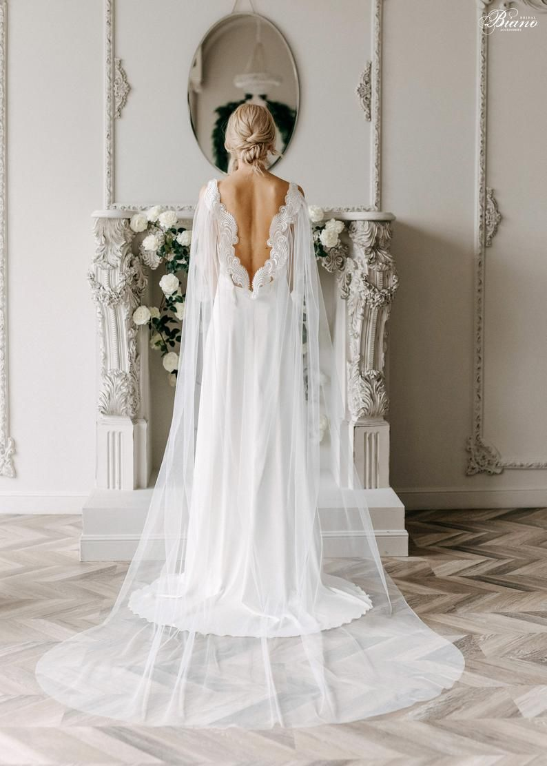 Capelet Wedding cover up Bridal Cape Tulle Cape Crystal Cape Wedding cape SHINE CAPE