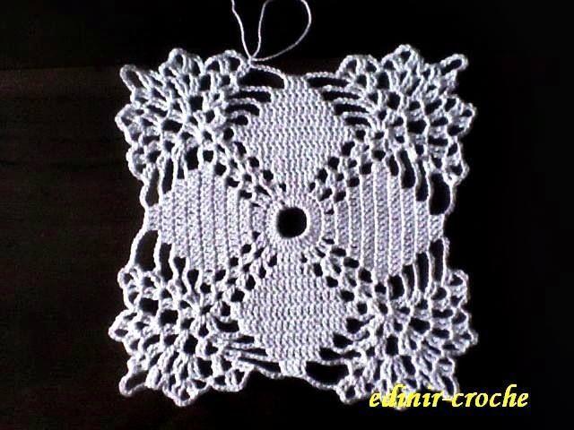 Una pastilla a crochet
