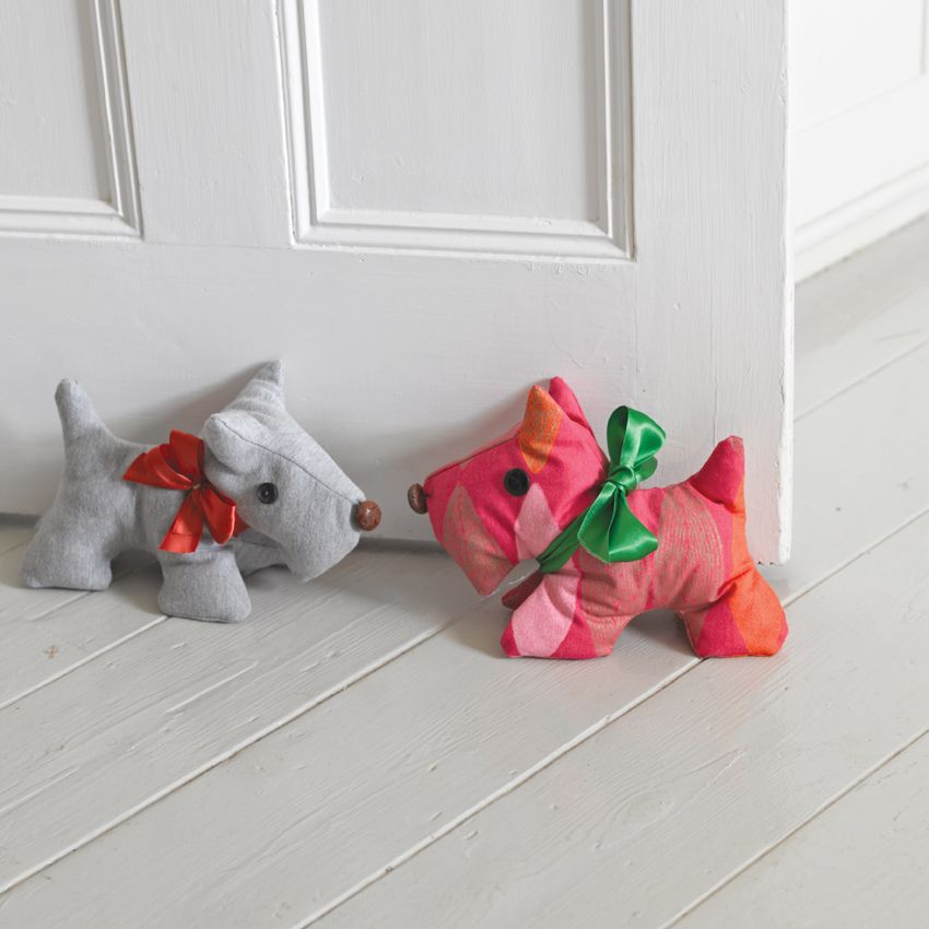 Scotty Dog Doorstop Pattern | SewandSo Ideas | Free Sewing Patterns ...