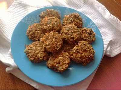 Amy's Nutritarian Kitchen: Vegan Carrot Cake Cookies