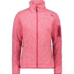 Photo of Cmp Damen Unterjacke Knitted Melange Fleece Woman Jacket, Größe 42 In Rhodamine, Größe 42 In Rhodami