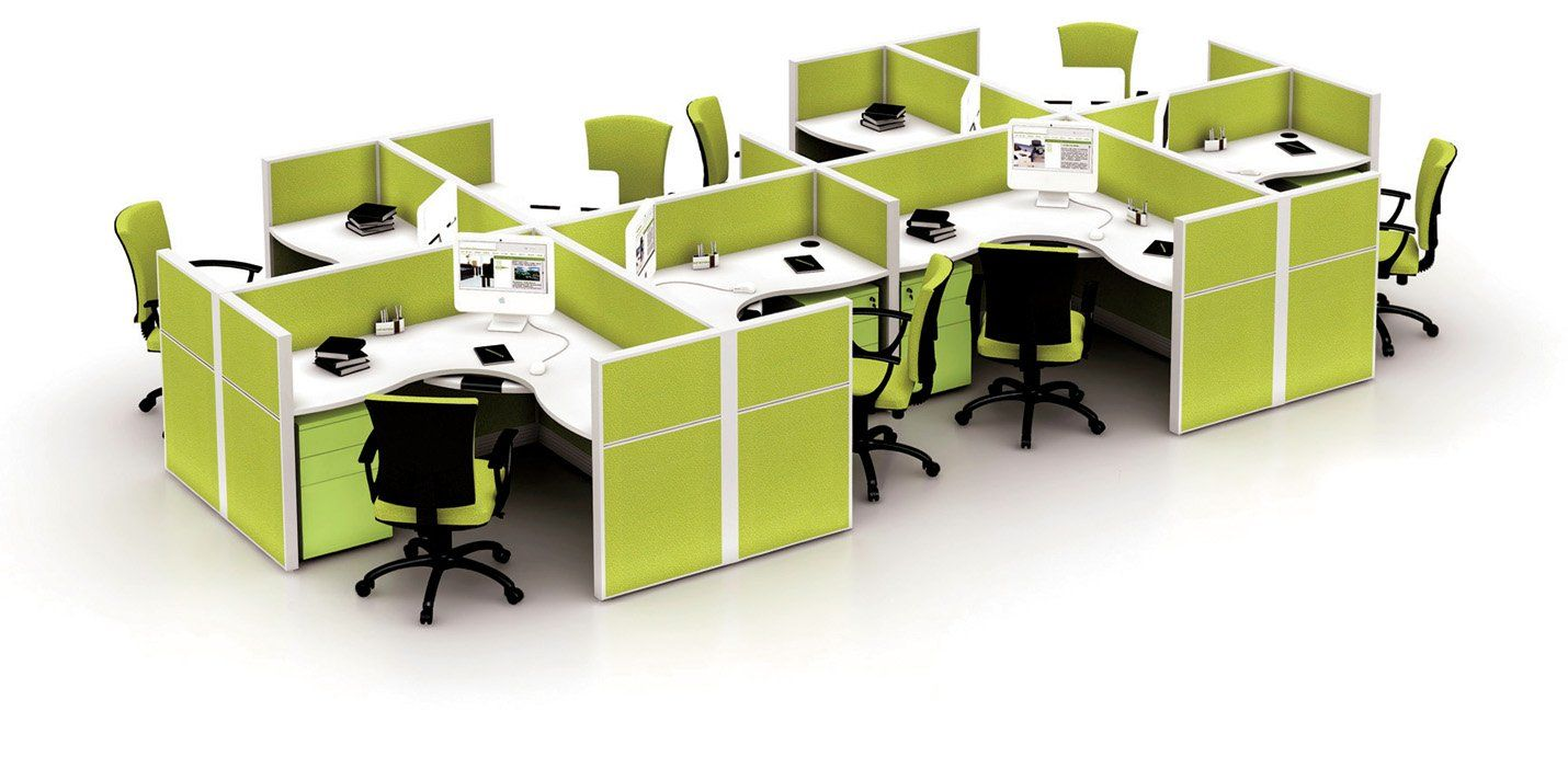 2 Person Office Workstation Office Cubicle Design With Overhead .