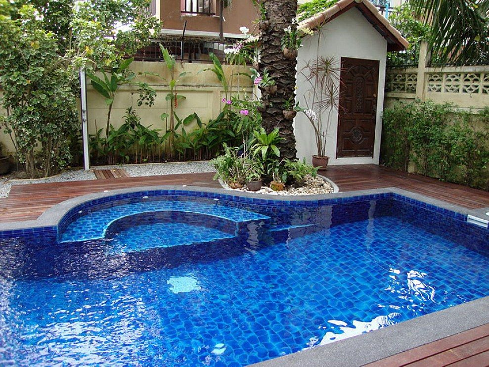 Underground Inground Swimming Pools Ideas Small Inground Pool Inground Pool Designs Backyard Pool