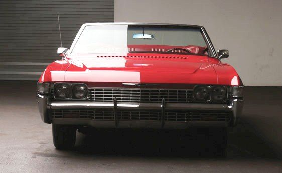 1968 Chevrolet Impala Convertible. Full-size Chevrolets received their annual restyling, yet changes were minor for 1968. Length grew just one inch along with some minor additions of new models and the deletion of other less popular ones. The Impala convertible was the only convertible available in the full-size lineup, though an SS version was no longer a separate model having been relegated to an option package. Cost new, $3,197 before options.