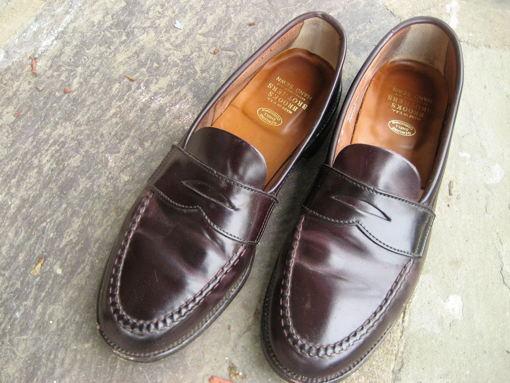 9d004cb08172d alden x brooks brothers penny loafer in 2019