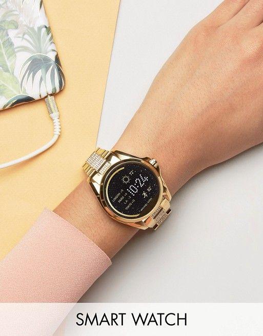 Michael Kors Access Gold Glitter Bradshaw Smart Watch  perfumeparahombre   perfume  perfumes  peru 899fced5f167