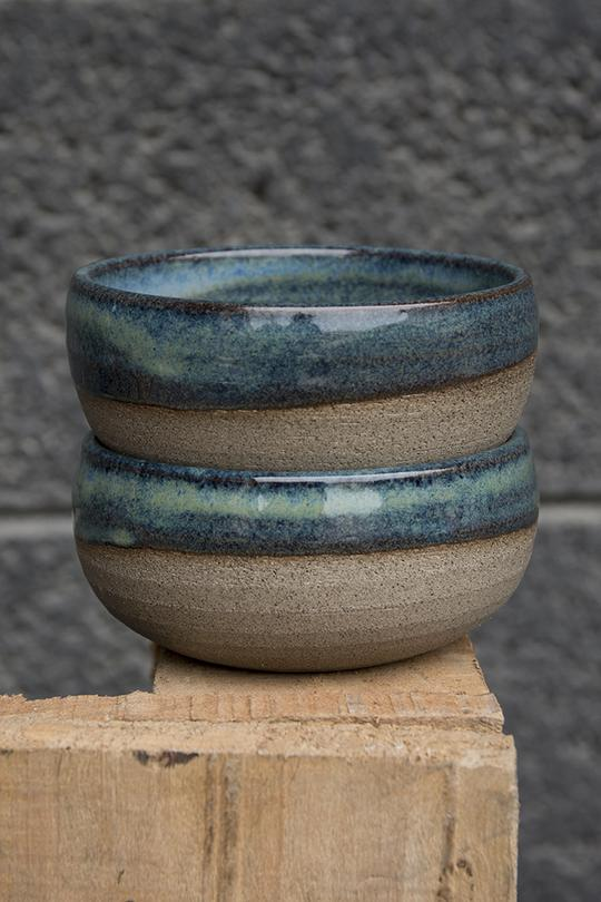 Mini Blue-Green Pottery Serving Bowls – Mad About Pottery