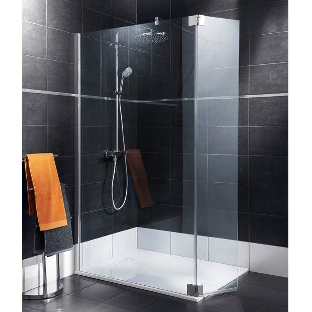 paroi de douche palace 125 + 35 cm (549 €)   et pour ma salle de