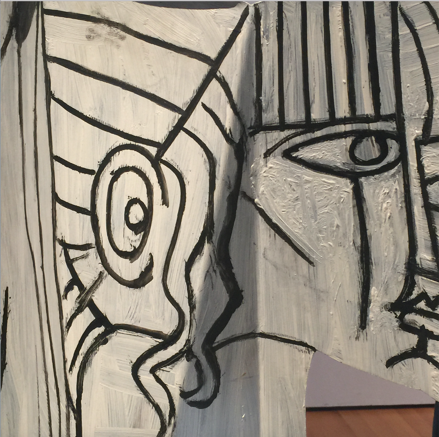 Head Of A Woman Mougins 1962 Detail Painted Sheet Metal And Iron Wire Musee National Picasso Paris Nation Pablo Picasso Painting Picasso Mougins