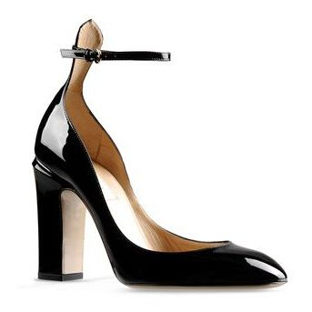 Valentino women shoes tango pumps black patent leather Only 99.99 Feature:  adjustable ankle strap Material