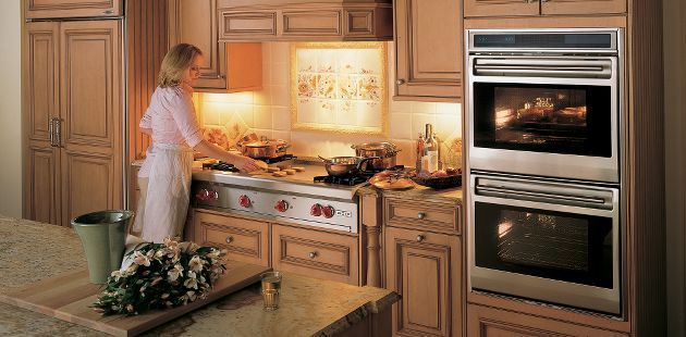 Love The Double Ovens! The Stoves Pretty Cool To But I Would Want A Grill