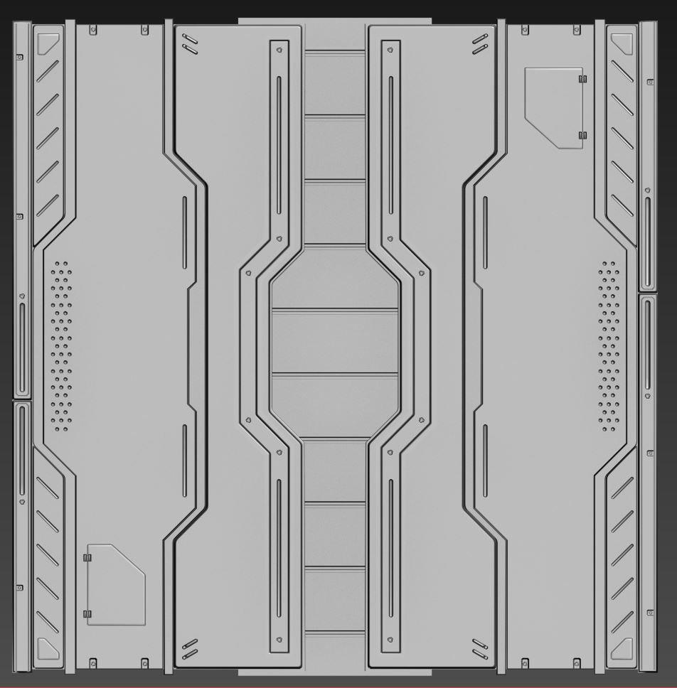 sci fi ceiling texture. Concept Art Sci Fi Ceiling Texture E