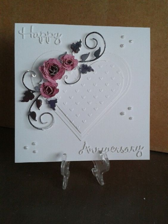 3 Handmade Wedding Anniversary Cards For Husband