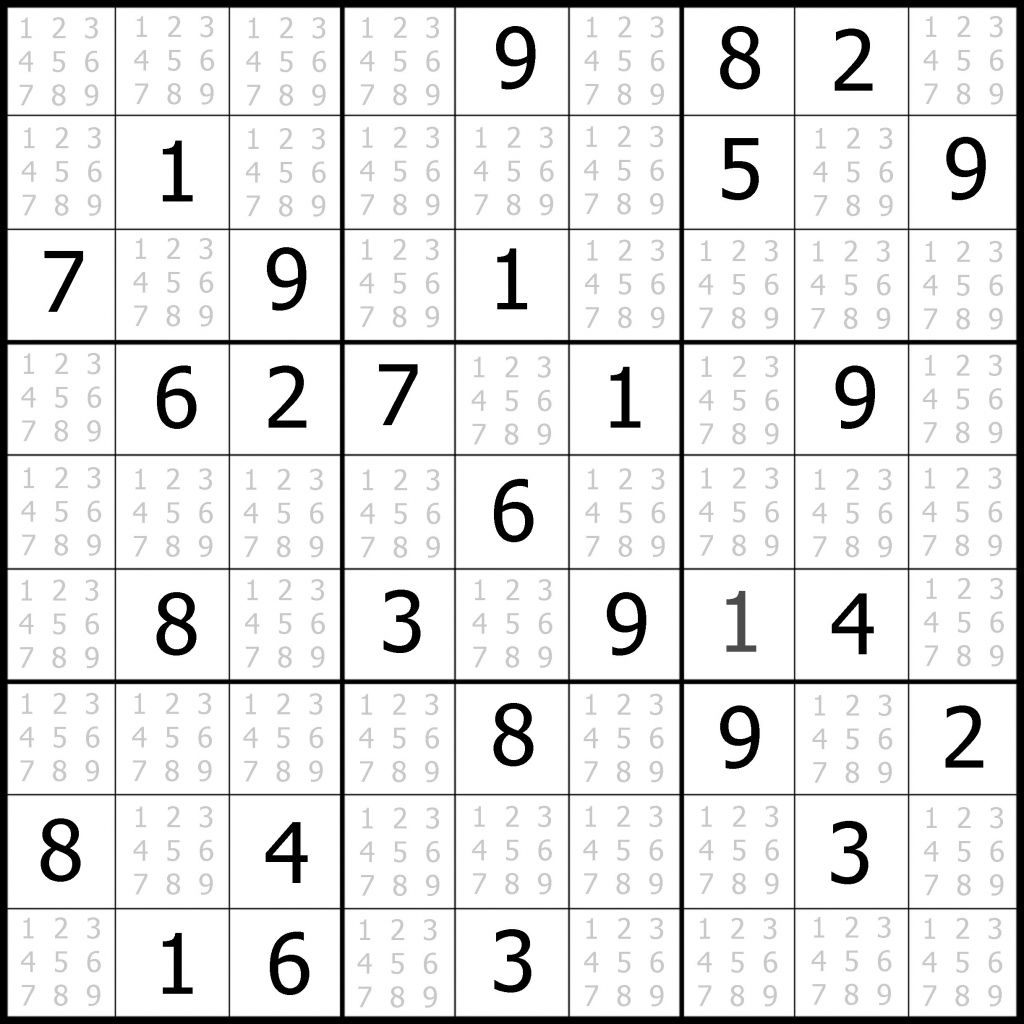Printable Sudoku Puzzles 8 Per Page In