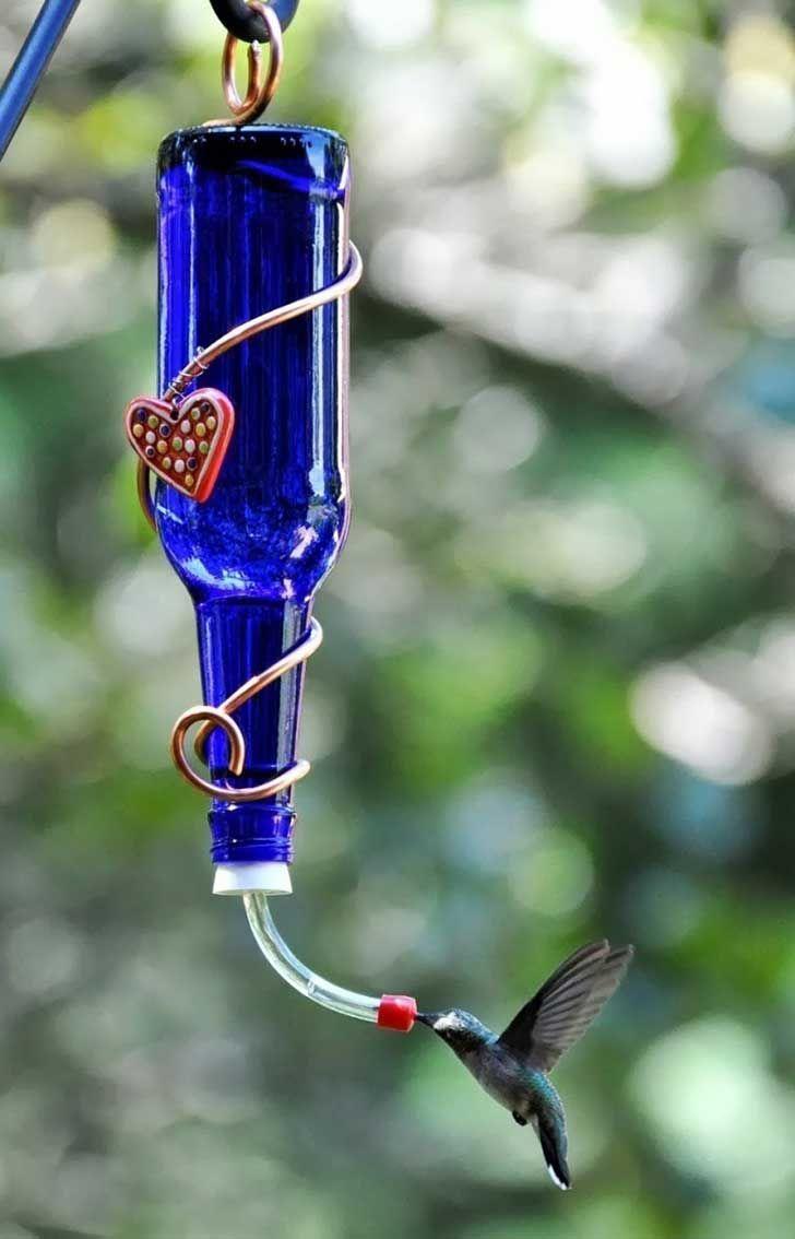 Construye un bebedero para colibríes, y deléitate a diario con su ...