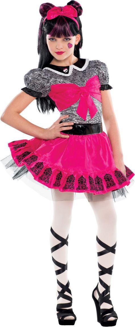 Girls Monster High Draculaura Costume Party City Julia S